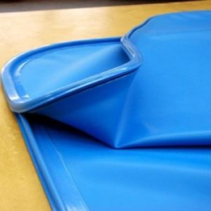 Sacca siliconica blu | Blu silicon bag